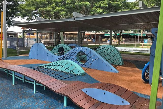 Darwin Waterfront Playground by NT Sports and Playground Surfacing