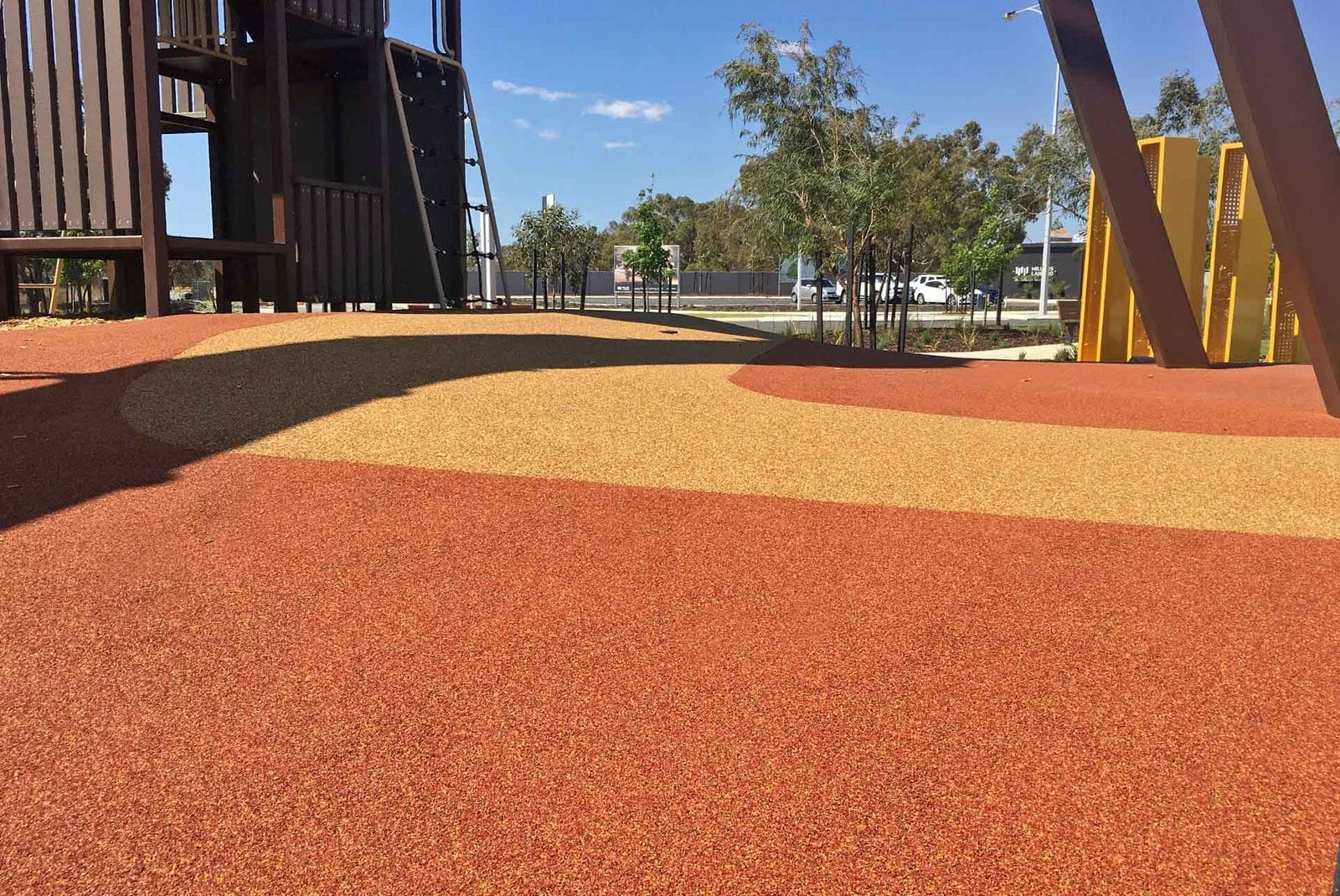 Millars Landing by Perth Playground and Rubber