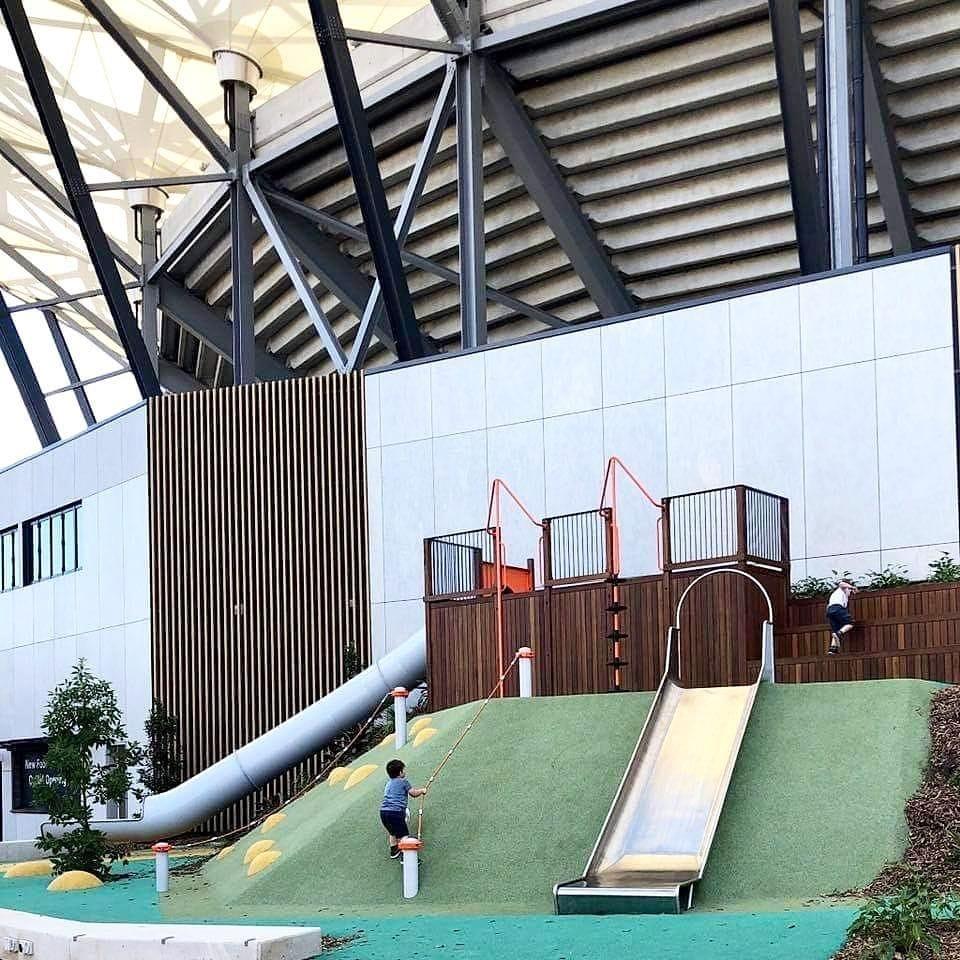 Western Sydney Stadium Part 1 - Synthatech