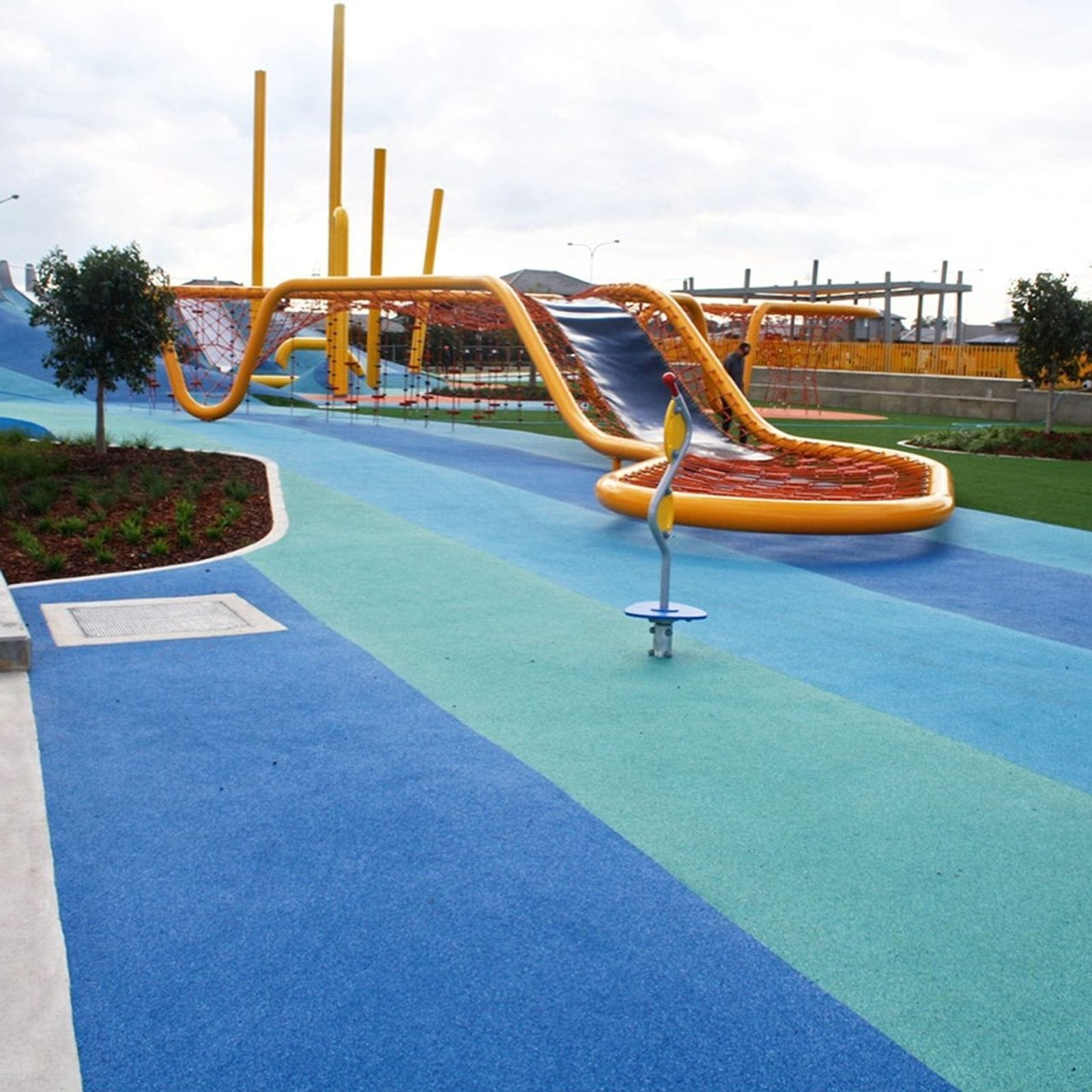 Synthetic Grass and Rubber Surfaces Project