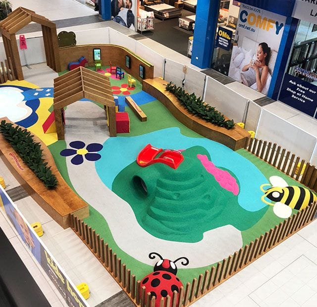 Surface Designs Rosehill TPV® Rubber Wetpour Playground | Tuggerah Super Centre by Complete Playgrounds