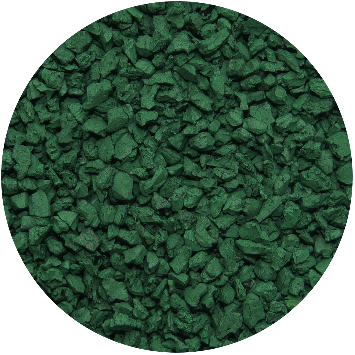 Dark Green Pre Coloured Pre Coated Rubber