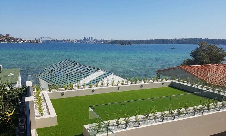 Synthetic Grass & Rubber Surfaces | Synthetic Grass Rooftop