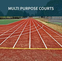 Multipurpose Courts | Synthetic Grass & Rubber Surfaces