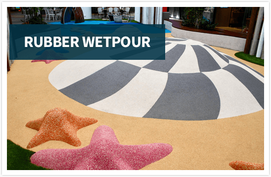 Rubber Wetpour Playground