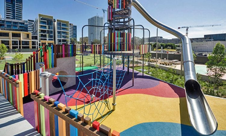 Synthetic Grass and Rubber Surfaces | Rosehill TPV® Rubber Playground