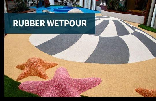 Rubber Wetpour
