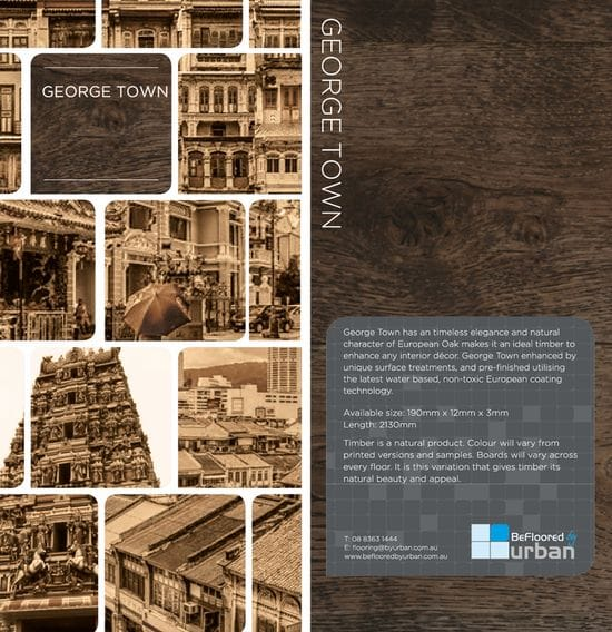 New Release - George Town