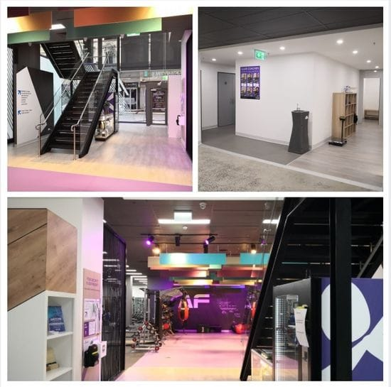 Anytime Fitness Gym Fit Out