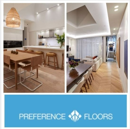 "As seen on ""The Block"" - Preference Floors"