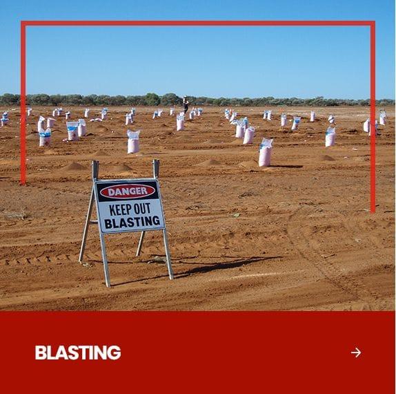 Redline Drill & Blast | Western Australia Drilling and Blasting | Drill and Blast Contractors