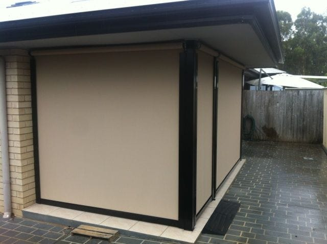 Outdoor patio blinds | Gold Coast blinds and awnings