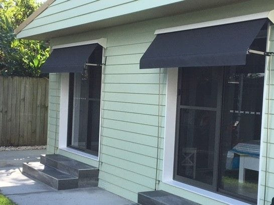 Auto roll up outdoor blinds on the Gold Coast