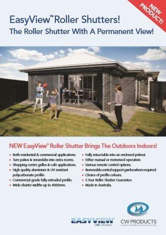 Read Easy View Roller Shutter Brochure