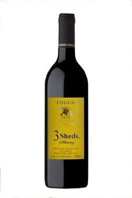2010 3 SHEDS SHIRAZ