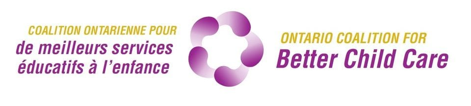 The Ontario Coalition for Better Child Care logo