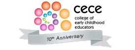 CECE - College of early childhood educators logo