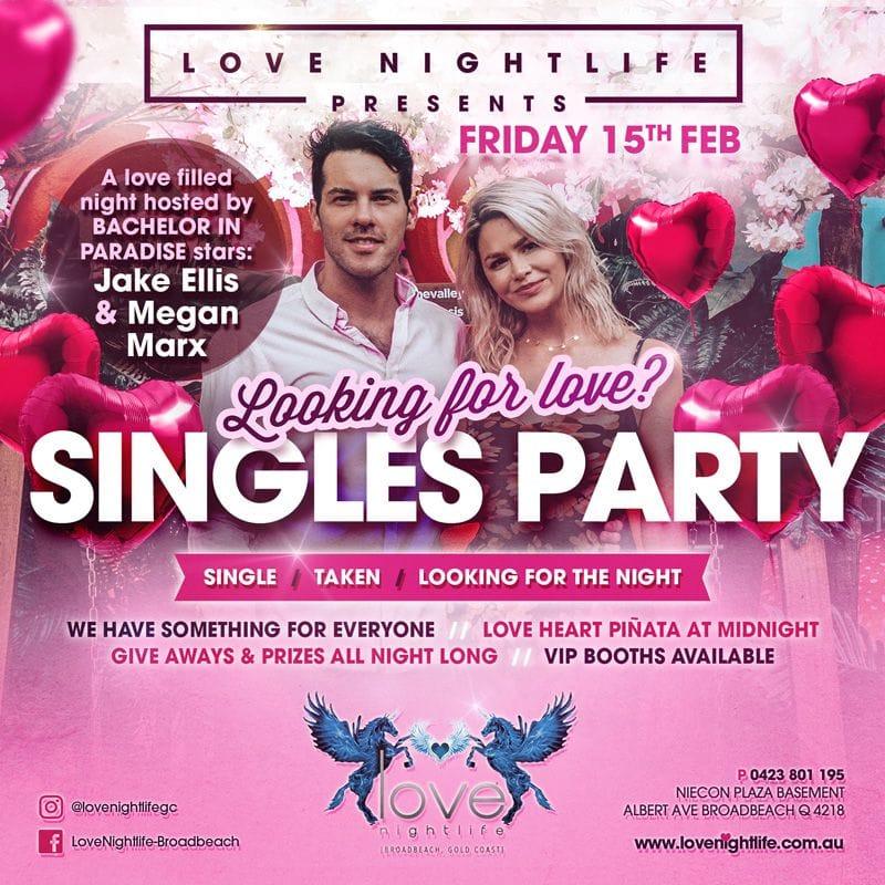 Love Nightlife Nightclub | Broadbeach Gold Coast | Mid Night Garden | Nightclub Event