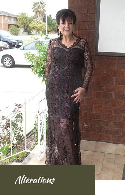 Dress Alterations Perth