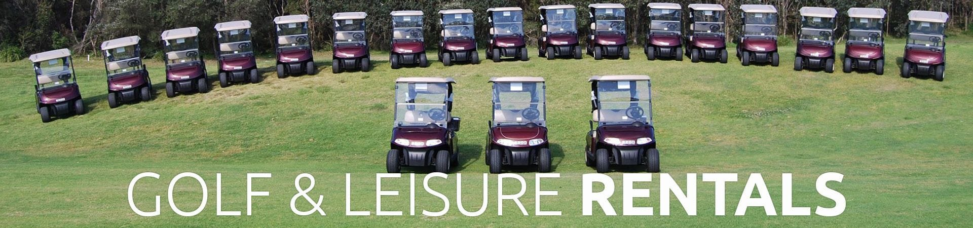 Golf and Leisure Vehicle Rentals | Golf Car World