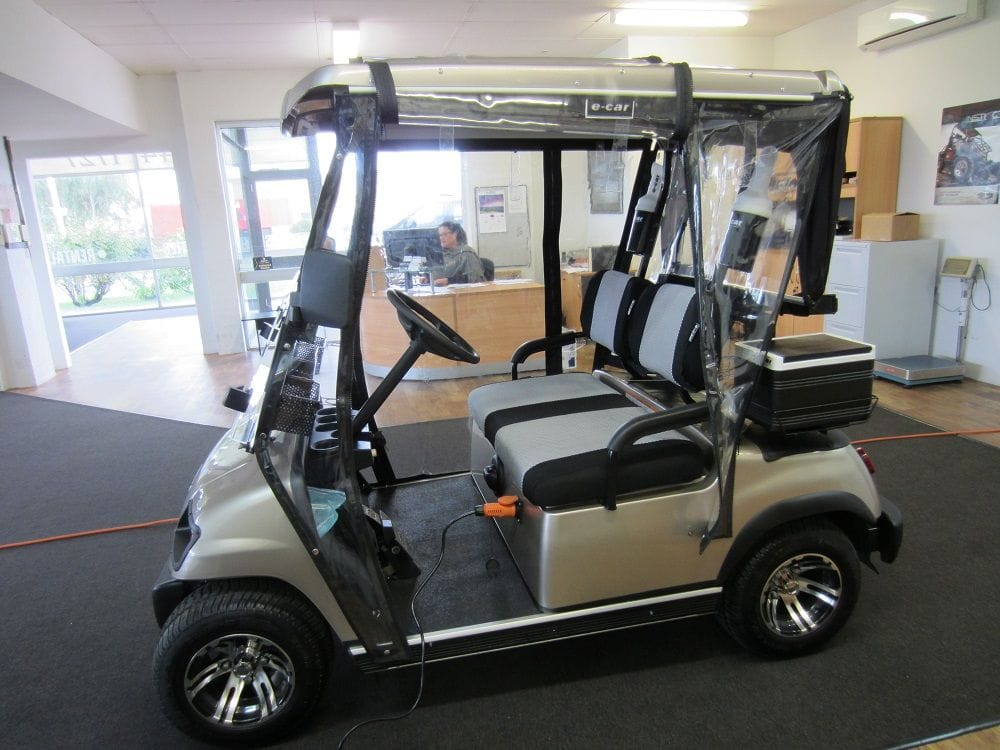 Ecar Golf Car | golfers pack | golf car world | perth | western australia