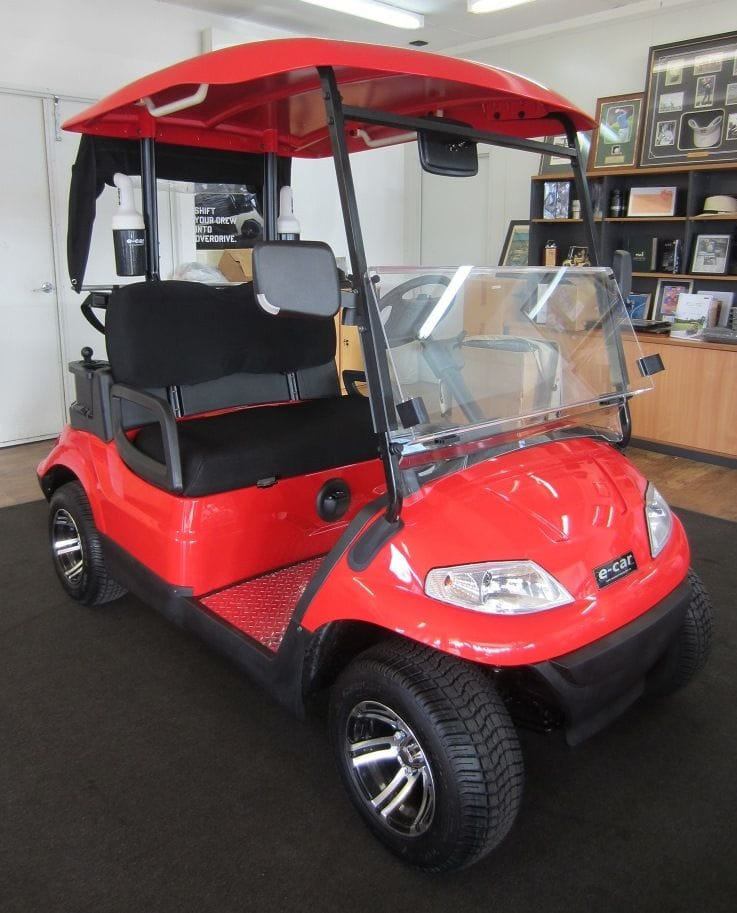 Ecar Golf Car | golfers pack | golf car world | perth | western australia