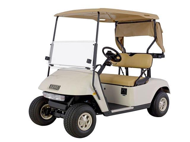 2 Seat E-Z-GO Golf Car - Petrol (With Lights)