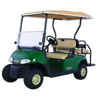 4 Seat E-Z-GO Golf Car - Petrol (With Lights)