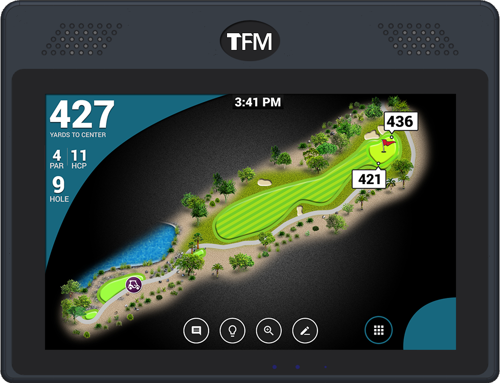 TFM 10 Ex (Golfer Enhanced GPS)