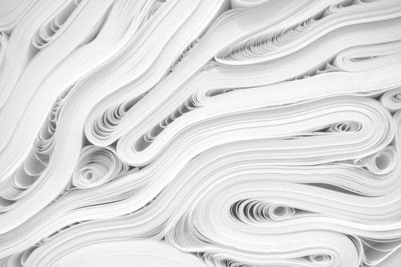Did you know paper has one of the lowest carbon footprints?
