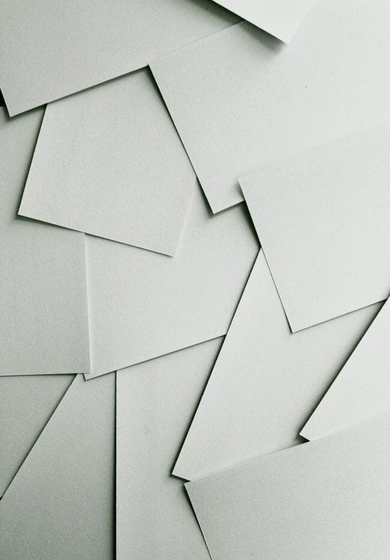 Paper is one of the most recycled products in the world