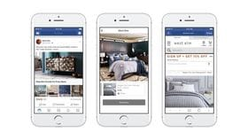 Facebook ads replicate print catalogues