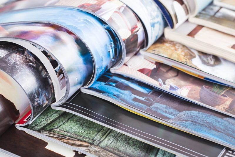 The rise of B2B print media