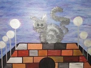 Shaggy Cat