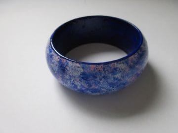 Marbled Light Blue - Wide
