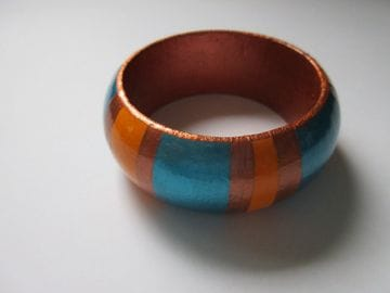 Turquoise and Copper - Wide