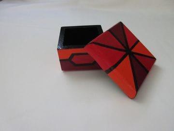 Windmills—Square Wooden Box