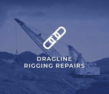DRAGLINE RIGGING REPAIRS