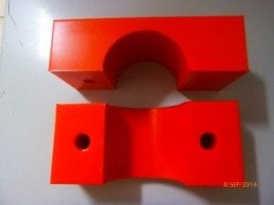 Clamp Stauff Set 75mm