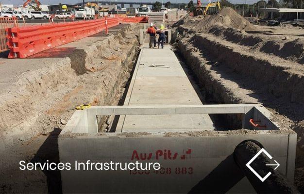 Services Infrastructure | Crib Civil