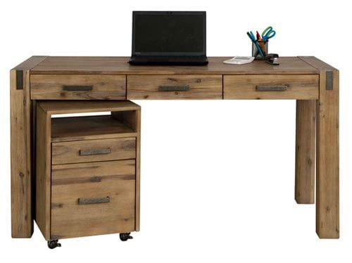 Sterling Desk and Pedestal Drawers Main