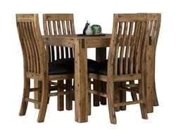 Sterling 5 Piece Square Dining Suite