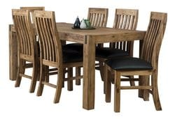 Sterling 7 Piece Rectangle Dining Suite