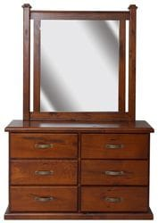 Fitzroy Dresser and Mirror