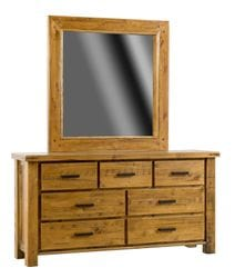 Woolshed Dresser and Mirror