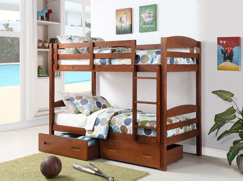Bravo Single/Single Bunk Bed Main