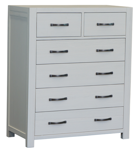 French Coast 6 Drawer Tallboy Main