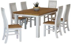 Hamptons 7 Piece Dining Suite 1800 Table