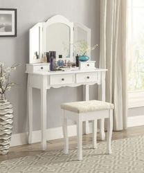 Diamond Dresser with Stool