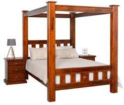 Fitzroy Queen 4 Post Bed